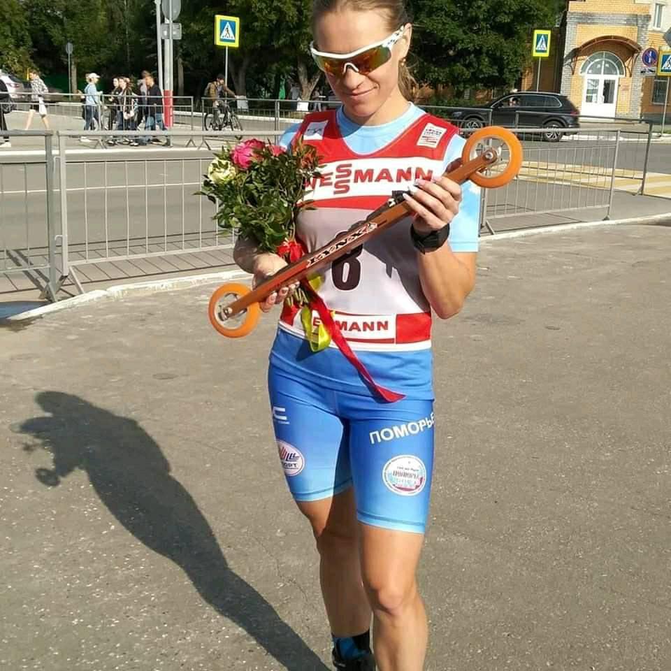 Светлана Николаева (лыжероллеры Lynx) призер общего зачета Кубка мира 2019 г.